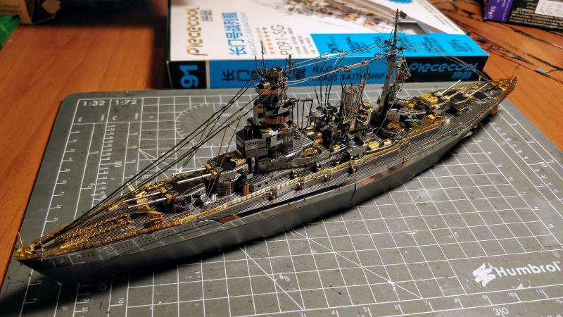 Featured image of post Metal Kit: Nagato Class Battleship