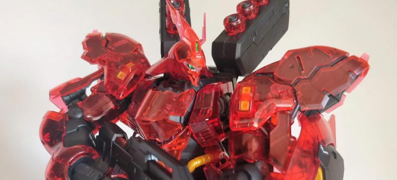 Featured image of post RG Sazabi (Clear Color), done